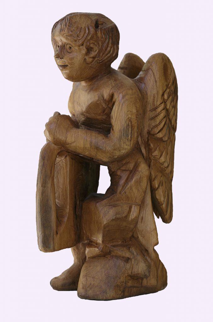 ANGEL, Old oak, 90 x 40 x 40 cm, 2011